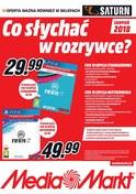 Gazetka promocyjna Media Markt - Co słychać w rozrywce? - ważna do 31-08-2018