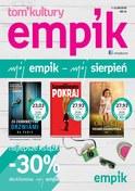 Gazetka promocyjna EMPiK - Mój sierpień - ważna do 21-08-2018