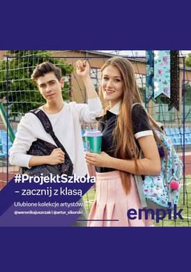 Gazetka promocyjna EMPiK - Projekt szkoła