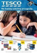 Gazetka promocyjna Tesco Hipermarket - Na każdą szkolną przygodę