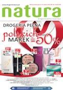 Gazetka promocyjna Drogerie Natura - Drogeria pełna polskich marek - ważna do 15-08-2018