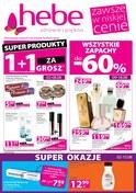 Gazetka promocyjna Hebe - Super produkty 1+1 za grosz - ważna do 15-08-2018