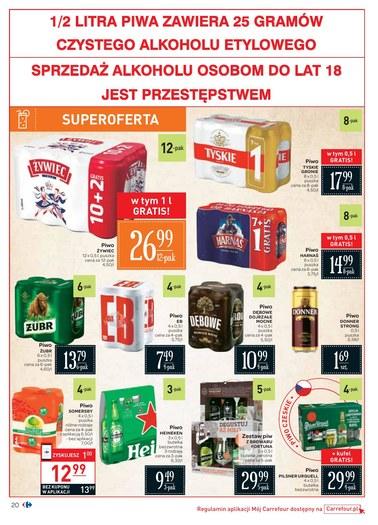 Gazetka promocyjna Carrefour, ważna od 07.08.2018 do 18.08.2018.