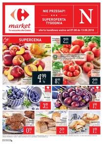 Gazetka promocyjna Carrefour Market, ważna od 07.08.2018 do 13.08.2018.