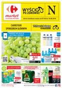 Gazetka promocyjna Carrefour Market - Wyścig po zdrowie - ważna do 18-08-2018