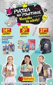 Gazetka promocyjna Biedronka, ważna od 06.08.2018 do 26.08.2018.
