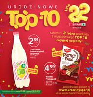 Gazetka promocyjna SPAR - Urodzinowe TOP 10