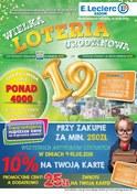 Gazetka promocyjna E.Leclerc - Wielka loteria urodzinowa - Radom - ważna do 18-08-2018