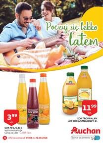 Gazetka promocyjna Auchan, ważna od 09.08.2018 do 22.08.2018.