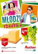 Gazetka promocyjna Auchan - Młodzi rządzą! - ważna do 14-08-2018