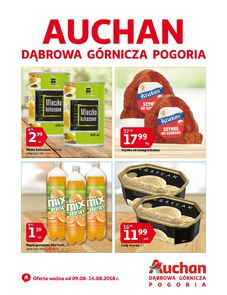 Gazetka promocyjna Auchan, ważna od 09.08.2018 do 14.08.2018.