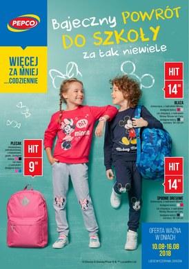 Gazetka promocyjna Pepco - Bajeczny powrót do szkoły