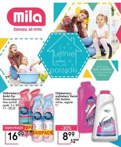 Gazetka promocyjna MILA, ważna od 08.08.2018 do 21.08.2018.