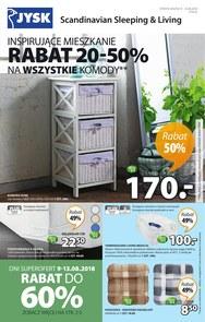 Gazetka promocyjna Jysk, ważna od 09.08.2018 do 22.08.2018.