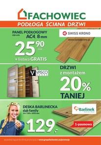 Gazetka promocyjna Fachowiec, ważna od 15.07.2018 do 30.09.2018.
