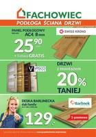 Gazetka promocyjna Fachowiec - Podłoga ściana drzwi