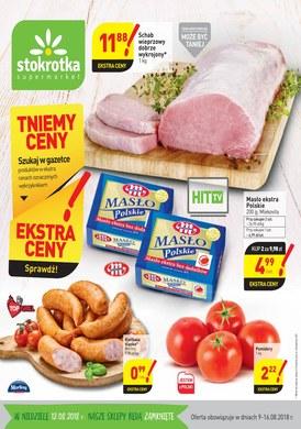 Gazetka promocyjna Stokrotka - Tniemy ceny!