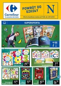 Gazetka promocyjna Carrefour, ważna od 07.08.2018 do 02.09.2018.