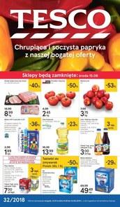 Gazetka promocyjna Tesco Hipermarket, ważna od 09.08.2018 do 14.08.2018.