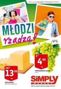 Gazetka promocyjna Simply Market, ważna od 09.08.2018 do 14.08.2018.