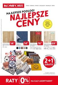 Gazetka promocyjna Komfort, ważna od 08.08.2018 do 18.09.2018.
