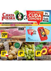Gazetka promocyjna Chata Polska, ważna od 09.08.2018 do 14.08.2018.