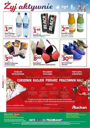 Gazetka promocyjna Auchan, ważna od 10.08.2018 do 18.08.2018.