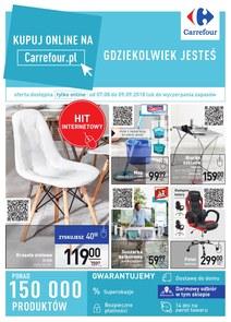 Gazetka promocyjna Carrefour, ważna od 07.08.2018 do 09.09.2018.