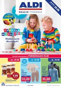 Gazetka promocyjna Aldi, ważna od 20.08.2018 do 26.08.2018.