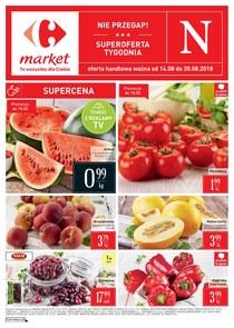 Gazetka promocyjna Carrefour Market, ważna od 14.08.2018 do 20.08.2018.