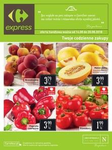 Gazetka promocyjna Carrefour Express, ważna od 14.08.2018 do 20.08.2018.