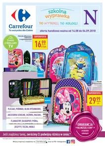 Gazetka promocyjna Carrefour, ważna od 14.08.2018 do 04.09.2018.