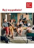 Gazetka promocyjna Black Red White - Żyj wygodnie!