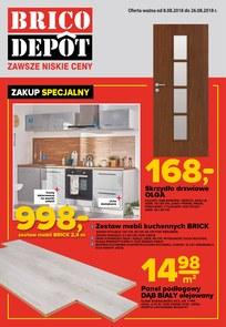 Gazetka promocyjna Brico Depot, ważna od 08.08.2018 do 26.08.2018.