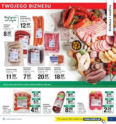 Gazetka promocyjna Makro Cash&Carry, ważna od 14.08.2018 do 27.08.2018.