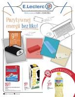 Gazetka promocyjna E.Leclerc - Pozytywnej energii bez liku!