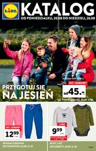 Gazetka promocyjna Lidl, ważna od 20.08.2018 do 26.08.2018.