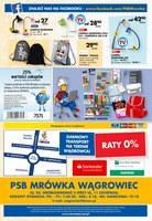 Gazetka promocyjna PSB Mrówka - Sierpniowe hity ceneowe - Wągrowiec
