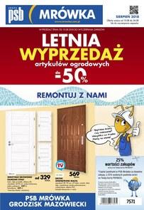 Gazetka promocyjna PSB Mrówka, ważna od 10.08.2018 do 26.08.2018.