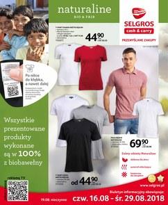 Gazetka promocyjna Selgros Cash&Carry, ważna od 16.08.2018 do 29.08.2018.