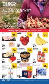 Gazetka promocyjna Tesco Supermarket, ważna od 16.08.2018 do 22.08.2018.