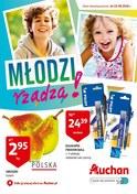 Gazetka promocyjna Auchan - Młodzi rządzą - ważna do 22-08-2018