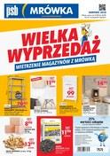 Gazetka promocyjna PSB Mrówka - Wielka wyprzedaż - Nowy Targ - ważna do 26-08-2018
