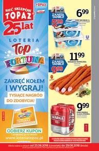 Gazetka promocyjna Topaz, ważna od 23.08.2018 do 29.08.2018.