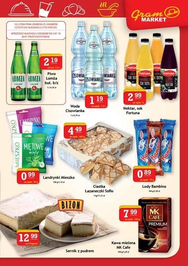 Gazetka promocyjna Gram Market, ważna od 16.08.2018 do 21.08.2018.