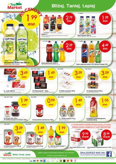 Gazetka promocyjna Top Market, ważna od 13.08.2018 do 18.08.2018.