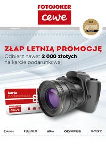 Gazetka promocyjna Fotojoker, ważna od 01.08.2018 do 31.08.2018.