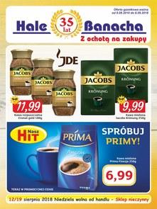Gazetka promocyjna Hala Banacha, ważna od 09.08.2018 do 08.09.2018.