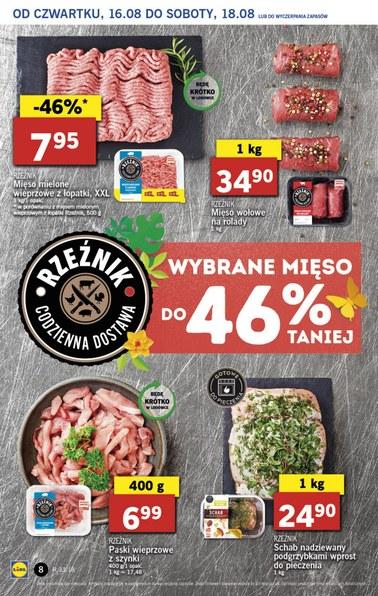 Gazetka promocyjna Lidl, ważna od 16.08.2018 do 18.08.2018.