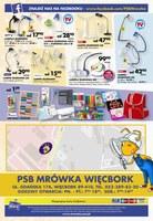 Gazetka promocyjna PSB Mrówka - Remontuj z nami - Więcbork